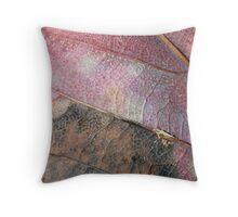 Autumn Pinks Throw Pillow