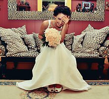 Blushing Bride by fallenrosemedia