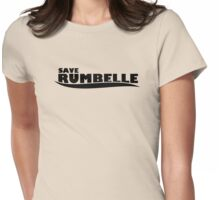 Once Upon a Time - Save Rumbelle Womens Fitted T-Shirt