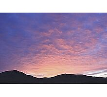 Sunrise At Mono Lake Photographic Print