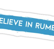 Once Upon a Time - I believe in Rumbelle Sticker