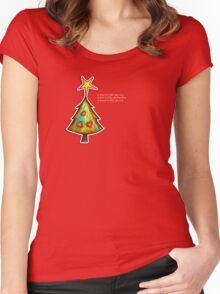 A Christmas Wish TShirt Women's Fitted Scoop T-Shirt