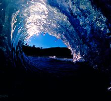 Blue Glass by Nick Borelli