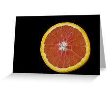 Citrus Wheel Greeting Card
