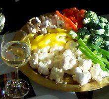 Festive lunch in the sun by Carole Boudreau