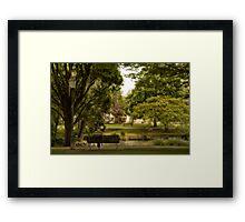 Peace & Quiet Framed Print