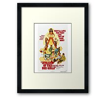 INVASION OF THE BEE GIRLS B MOVIE Framed Print