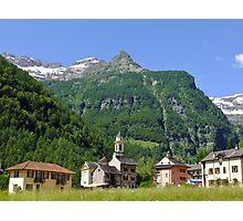 Mountain Village Photographic Print
