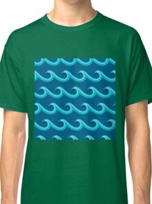 Origami waves Classic T-Shirt