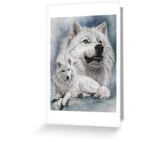 Noble Intensity Greeting Card