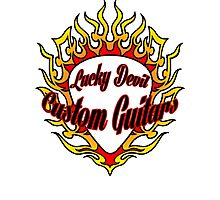 Lucky Devil Custom Guitars Photographic Print