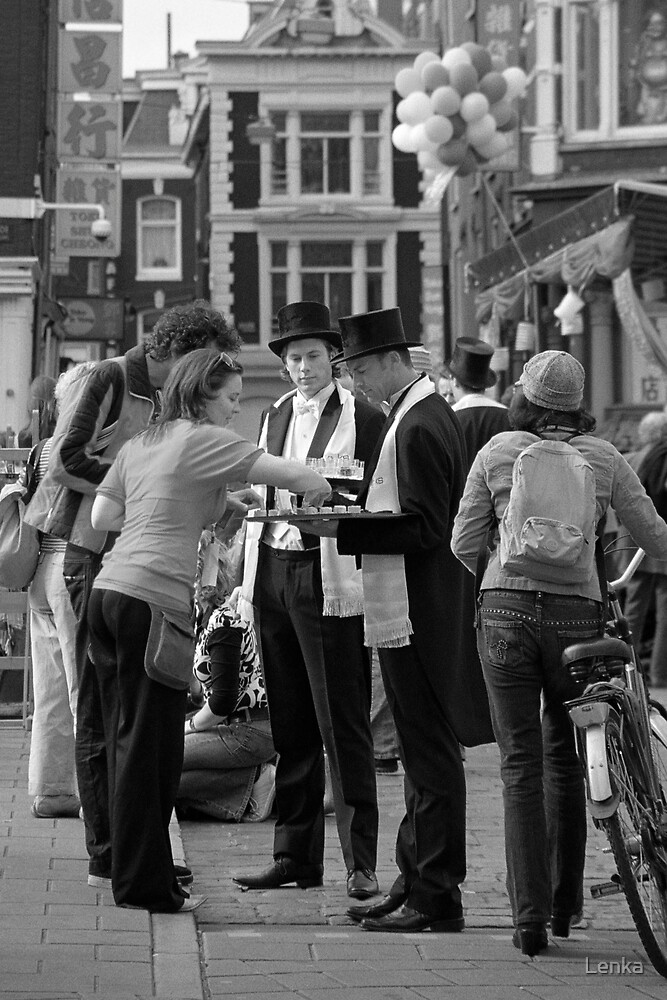 Street festival in Amsterdam by Lenka