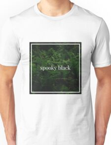 Spooky Black Unisex T-Shirt