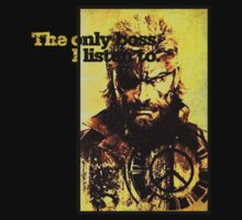 MGS The only boss by Greven