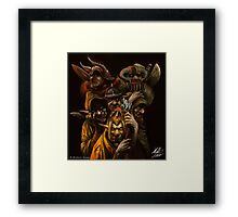 Ogres and Goblins  Framed Print