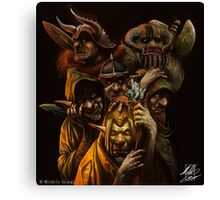 Ogres and Goblins  Canvas Print
