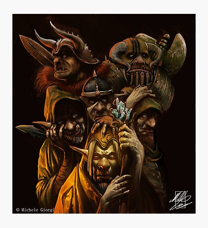 Ogres and Goblins  Photographic Print