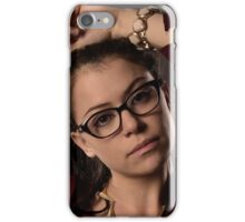 Cosima Niheaus: the sexiest Geek Monkey ever! iPhone Case/Skin