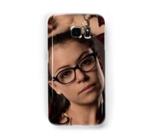 Cosima Niheaus: the sexiest Geek Monkey ever! Samsung Galaxy Case/Skin