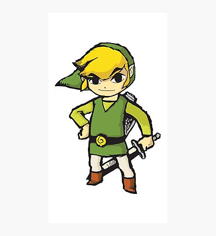 Wind Waker Link Photographic Print