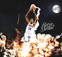Kevin Durant  by nbadesigns