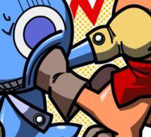 Yuki VS Honoo: fight! Sticker