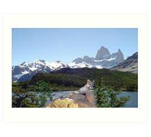 1042B-Cougar Lake Art Print