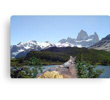 1042B-Cougar Lake Canvas Print