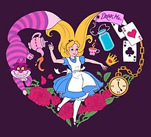 Alice in Wonderland by LovelyKouga