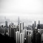 Hong Kong From Above by hideyourarms