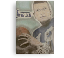Johnny Unitas Metal Print