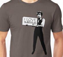I heart subtitles! Unisex T-Shirt