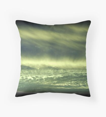 Grandview Autumn Sunset Series - no.1 (redone) Throw Pillow