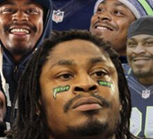 marshawn lynch thanks for asking Sticker