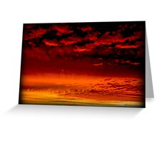 Grandview Autumn Sunset Series - no.3 (redone) Greeting Card