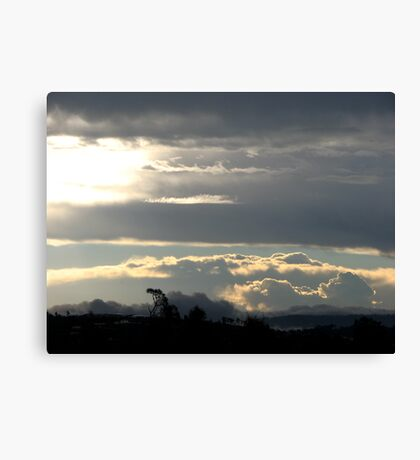Summer Storm over Gold Coast Hinterland Canvas Print