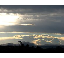 Summer Storm over Gold Coast Hinterland Photographic Print