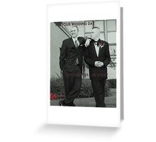GROOM AND THE JOKER Greeting Card
