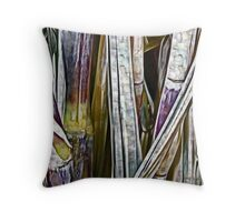 Raw Sugar Throw Pillow