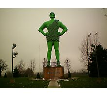 Ho ho ho ~ GREEN Giant! Photographic Print