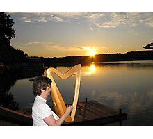IRISH MUSIC Photographic Print