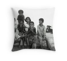 India. Throw Pillow
