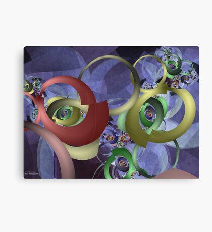 Twisted Perception Canvas Print