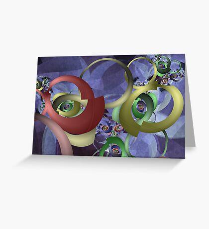 Twisted Perception Greeting Card