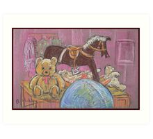 Still Life with Toys Art Print