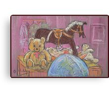 Still Life with Toys Canvas Print
