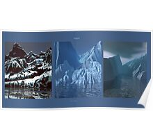 Tripytch - Glacier Meltdown Poster