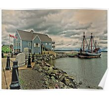 Pictou Waterfront Poster