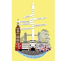 Welcome To London Photographic Print