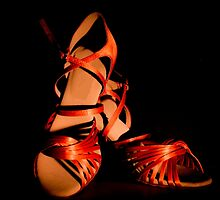 Latin and salsa dance shoes for  by GemaIbarra
